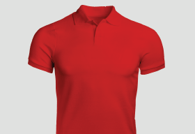Executive Casual Polo Red T Shirt