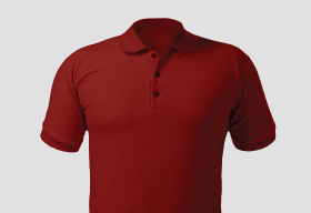 Premium Polo Arrow Red T Shirt Kooltex