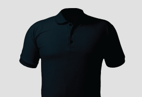 Premium Polo Arrow Dress Blue T Shirt Kooltex