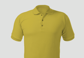 Premium Polo Arrow Sunshine Yellow T Shirt Kooltex