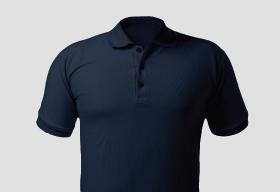 Premium Polo Arrow True Navy T Shirt Kooltex