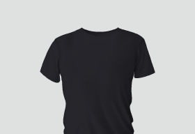 Premium Cotton Dark Blue Round Neck