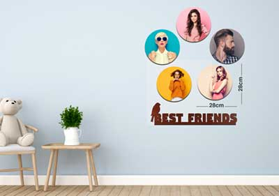 Best Friends 5Circular Fixtiles