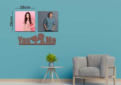 You and Me 2Square Fixtiles