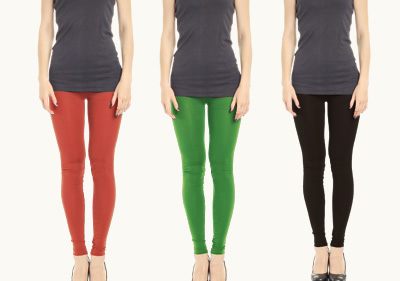 Full Length 3 in 1 - Black, Gren, Red