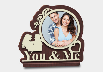 Circular Shaped You And Me Gift image