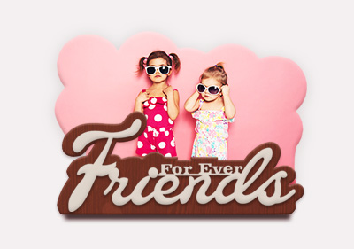 Forever Friends Gift With Stand image