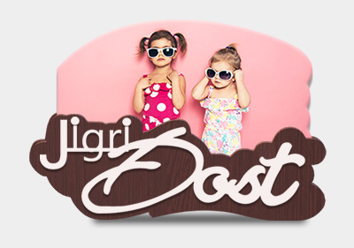 Jigri Dost Gift With Stand image