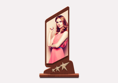 Rectangle Trophy With Stand2 image