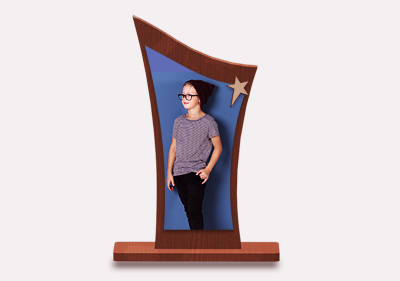 Rectangle Trophy With Stand1 image