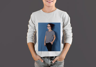 Boy Round Neck Full Sleeves image