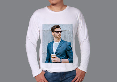 Men Round Neck Full Sleeves